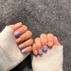 Adding some glitter nail art designs to your repertoire can glam up your style within a few hours. Check our fav Glitter Nail Art Designs and get inspired! Trendy Nails, Cute Nails, Hair And Nails, My Nails, Short Gel Nails, Gel Nagel Design, Pastel Nails, Acrylic Nails, Coffin Nails