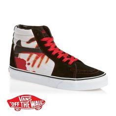 Vans Sk8-Hi Shoes - (Metallica Kill  Em All) Black True White 5d20e46a4
