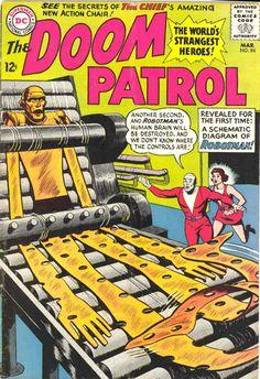 COMIC doom patrol 107 #comic #cover #art