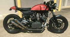 YAMAHA XV920R CAFE RACER #caferacerforsale #caferacer
