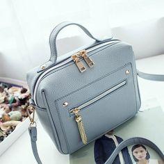 Bolish Alta Qualidade PU Mulheres de Couro bolsa Pequena bolsa Das Mulheres  Bolsa de Ombro Sacos b8a326c599