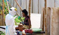 Blood-splattered floors at hospital where brave UK nurse got ebola