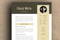 The Cheryl Resume Pack by LeResume on Creative Market