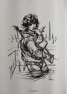 Image Enki Bilal : La Combattante