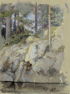 Kansallisgalleria - Taidekokoelmat - Rantakallio