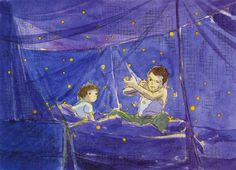 Hotaru no Haka / Grave of Fireflies WATERCOLOR