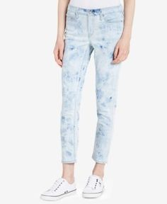 Calvin Klein Jeans Skinny Ankle Jeans - Blue 26
