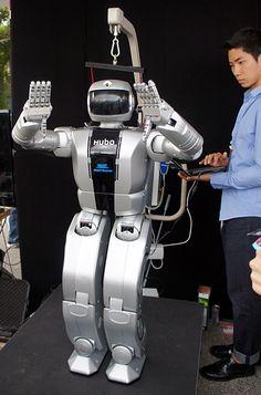 Korean robot Hubo 2 developed by KAIST..more at: http://hubolab.kaist.ac.kr/p_hubo2p