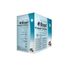 BX/50 - Biogel PI Indicator SZ 6.0, Blue Synthetic Surgical Glove Combined with the Biogel PI Overglove