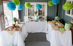 Baptism Party by AB Weddings & Events