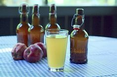 Make your own hard apple cider at home using this easy recipe >> http://blog.diynetwork.com/maderemade/how-to/just-brew-it-how-to-make-hard-cider-at-home?soc=pinterest