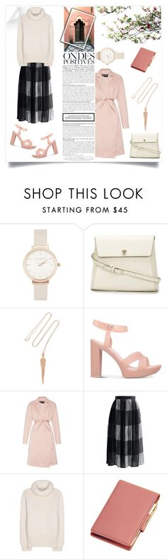 """""""trenches and turtle necks."""" by vigilexi ❤ liked on Polyvore featuring Anja, Olivia Burton, Valextra, Stephen Webster, Melissa, Rochas, Chicwish, STELLA McCARTNEY, Royce Leather and women's clothing"""
