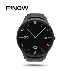 Finow X1 K8 Mini Smart Watch Android 4.4 Heart Rate Pedometer 3G WIFI GPS Clock NO.1 D5 Smartwatch For Android & iOS Phone