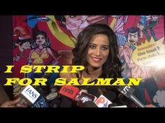 Poonam Pandey STRIP for SALMAN KHAN.