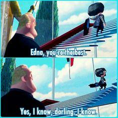 The Incredibles…  The wrong way to pronounce darling:  dARR-leeng  The right way: DAH-leeng