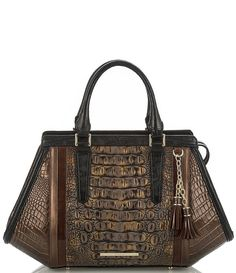 Shop for Brahmin Cosimo Collection Arden Crocodile-Embossed Tasseled Satchel at Dillards.com. Visit Dillards.com to find clothing, accessories, shoes, cosmetics & more. The Style of Your Life.