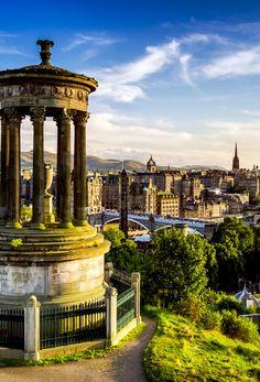 Hermosa vista de la ciudad de Edimburgo | 19 razones por Escocia debe estar en su lista de cubo. Increíble no. # 12