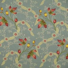 Most Exquisite Scalamandré Colony Collection Blue Grenada Lampas Drapery Upholstery Fabric @ 70% Off
