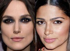 Maquiagem Keira Knightley, Camila Alves!