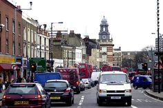 Looking towards Camberwell Green crossroads from Denmark Hill, London - Google Search