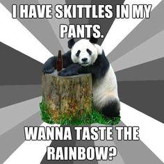 Pickup Line Panda LOL