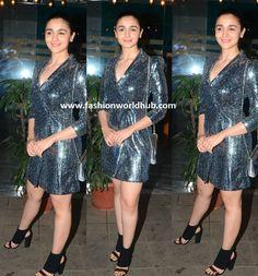 Alia Bhatt in Zara Bollywood Stars, Bollywood Fashion, Alia Bhatt, Zara, Formal Dresses, Style, Tea Length Formal Dresses, Swag, Formal Gowns
