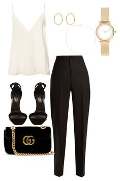 4 by sophialegarza on Polyvore featuring Anine Bing, Jacquemus, Yves Saint Laurent, Gucci, Skagen, Isabel Marant and Loren Stewart