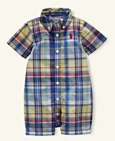 Ralph Lauren Baby Sunsuit, Baby Boys Kensington Shortall