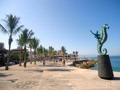 Malecón, Puerto Vallarta.