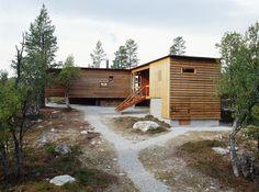 Cabin Porn: Mountain cottage in Stor-Edval, Sweden. Designed by Carl-Viggo Hølmebakk
