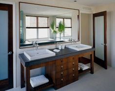 Double Sink Bathroom - Interior designs for your home