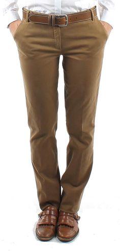 "Pantalon ""Pacome"" camel"