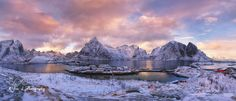 It was taken two years ago,  time flies, and I still remember after I landed Lofoten first time, a beautiful winter wonderland.