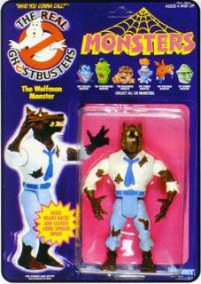 THE REAL GHOSTBUSTERS WOLF MAN ACTION FIGURE