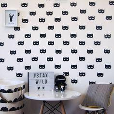 Parkins Interiors Superhero Mask Wall Stickers