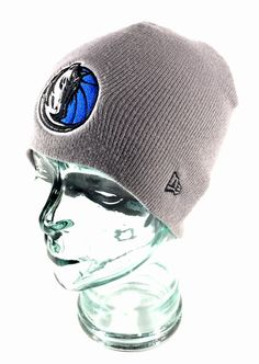 Skully Knit Beanie. Style: Fitted / Cuffless. Dallas Mavericks NBA Hat / Cap.   eBay!
