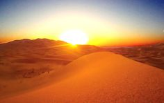 Erg Chegaga, sunrise among the dunes |  Maroc Désert Expérience | #morocco #sahara | http://www.marocdesertexperience.com