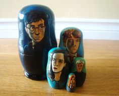 Nesting Dolls Get Nerdy With The Doctor, Harry Potter And More