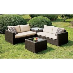 furniture of america alago outdoor sofa set las vegas furniture online lasvegasfurnitureonline lasvegasfurnitureonline - Garden Furniture Las Vegas
