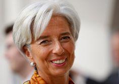 Christine Lagarde, France's Minister of Finance