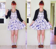 Plugging my own tutorial for Birdee magazine... ;) DIY: Make Your Own Circle Skirt Dress