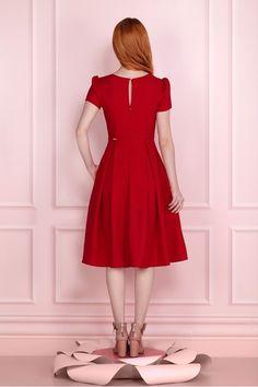 Dresses Kids Girl, 50s Dresses, Cute Dresses, Vintage Dresses, Fashion Dresses, Summer Dresses, Dress Robes, Dress Up, Simple Dresses