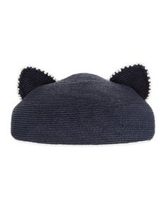 224a6b811e8a4 D0TJF Eugenia Kim Caterina Pearly Trim Cat-Ear Hat