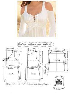 #moldes #costura #roupas #moda