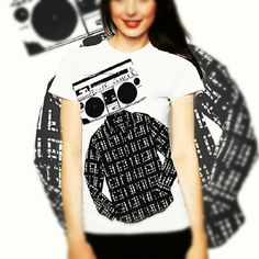 Women Tshirt RADIOHEAD Graphic Tee available in by TuristaClothing