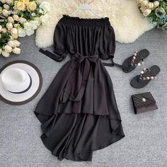 Indian Fashion Dresses, Girls Fashion Clothes, Teen Fashion Outfits, Girl Fashion, Dress Fashion, Stylish Dresses, Cute Dresses, Casual Dresses, Girls Dresses