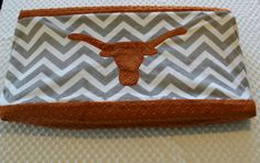 Texas Changing Pad Cover Longhorn Nursery by TheAmberRoseEmporium