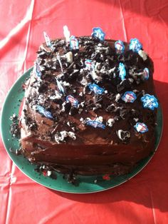 Ugly Christmas Cake
