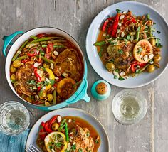 This hearty stew, full of vibrant veg and warming spices, is a Hemsley sister favourite. Serve with a side of cauliflower tabbouleh as a light accompaniment