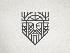 Dribbble - Odin Icon by Ryan Brinkerhoff